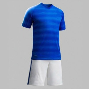 New 2014 World Cup Brazil National Away Blue Copa Mundial Camisetas De Futbol Original Football T Shirts and Brasil National Replica Soccer Jerseys Uniform Kit