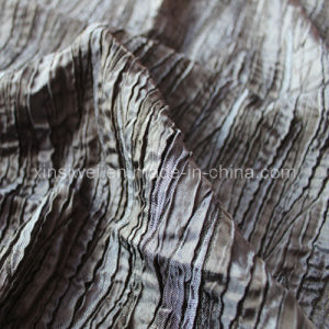 Jacquard Polyester Rayon Stretch Fabric /Crepe Fabric (SLTN9276) pictures & photos