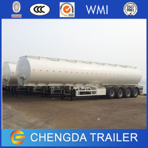 China Trailer Manufacturer Four-Axle 40000 Liters Oil Tanker Ship Sale pictures & photos
