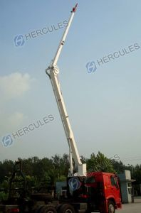 Water Tower Fire Trucks Lifting Mechanism 22m 32m pictures & photos