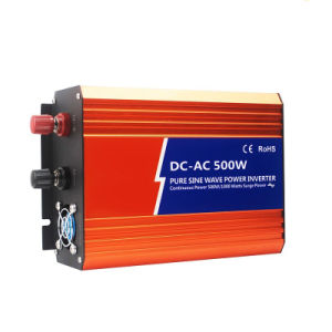 500W DC48V AC120V High Frequency off-Grid Pure Sine Wave Solar Power Inverter, pictures & photos