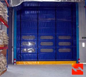 PVC Stacking Garage Doors (HF-1017) pictures & photos
