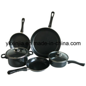 Kitchenware Carbon Steel Cooking Ware 7PCS Cookware Set pictures & photos