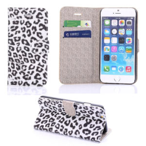 New Arrival Leopard Wallet PU Leather Case for Apple iPhone 6 Plus