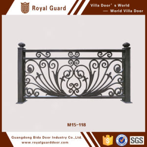 China Manufacturer Decorative Rust-Proof Antiseptic Aluminum Handrail Metal Balustrade