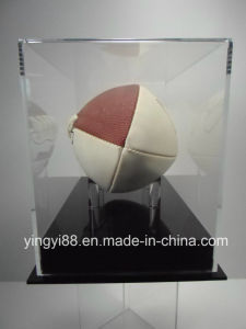 100% Acrylic Football Display Case with Black Base pictures & photos