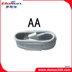 White Color USB Cable for iPhone with TPE pictures & photos