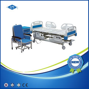 Five Function Electric Hospital Recliner Chair Bed (BS-858C) pictures & photos