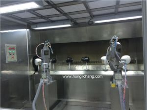 Robot Automatic Color Coating Paint Line for Helmet pictures & photos