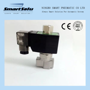 2 Way Ss304 Water High Pressure 12VDC Solenoid Valve pictures & photos