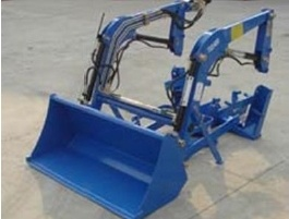 Compact Mini Tractor Rear Loader Approved by Ce pictures & photos