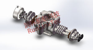 Stainless Screw Pump/Double Screw Pump/Twin Screw Pump/Fuel Oil Pump/2lb4-50-J/50m3/H pictures & photos