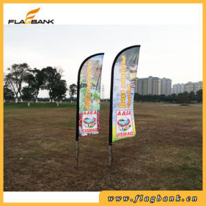 Small Size Aluminium Advertising Digital Printing Swooper Flag/Flying Flag pictures & photos