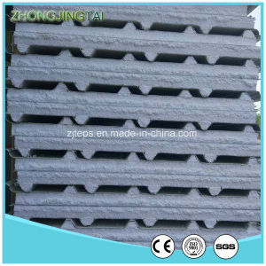 High Quality Light Weight Steel Color Corrugated EPS Sandwich Panel for Workshop pictures & photos