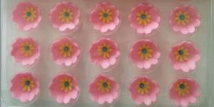 Hot Selling Cake Decoration Flower Shape Chocolate for Leisure Time pictures & photos