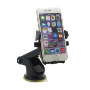 Folding Removable Universal Long-Neck One Touch Car Mount Mobile Cell Phone Car Holder for iPhone 6s 7 Plus Samsung S8 S7 Edge pictures & photos