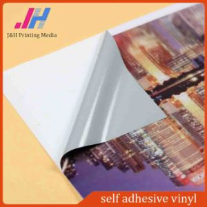 PVC Self Adhesive Vinyl 120g for Outdoor pictures & photos