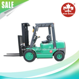 2500kg Flexible Diesel Forklift Truck pictures & photos