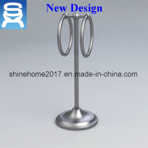 Home or Hotel Usage Chrome Plated Bathromm Towel Shelf pictures & photos