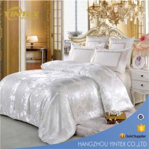 Chinese Luxurious Mulberry Natural Silk Quilt Comforter Silk Duvet with Jacquard Cotton Cover pictures & photos