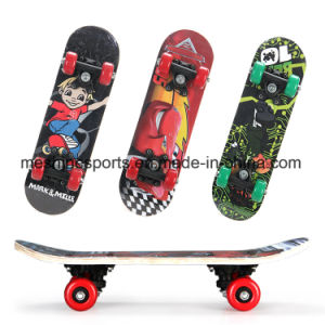 "17""Mini Wooden Skateboard Deck as Promotion Toy Gift pictures & photos"