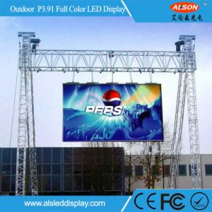 High Definition P3.91mm Outdoor Rental Curved LED Display pictures & photos