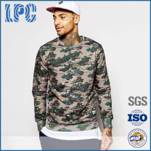 OEM Casual Camouflage Printe Polyester Mens Fashion Sweatshirt pictures & photos
