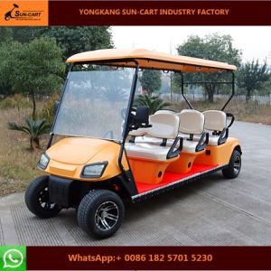 Six Passenger Electric Golf Cart Electric Vehicles pictures & photos