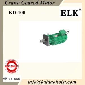 Elk 0.6kw Crane Geared Motor for End Truck Motor-6poles pictures & photos