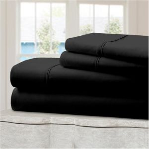 Deep Pocket Bed Sheet Set Brushed Hypoallergenic 1800 Series Microfiber Bedding Set pictures & photos