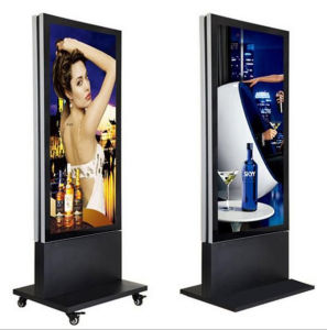 Double Side Aluminium Frame Free Standing Light Box pictures & photos