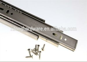 3-Fold Soft-Close Ball Bearing Drawer Slide pictures & photos