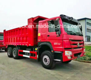 20-30 Tons Middle Lifting Style HOWO Tipper Truck/ Dump Truck pictures & photos