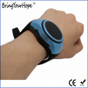 Bluetooth Anti-Lost Remote Shutter Bracelet Bluetooth Speaker (XH-PS-672) pictures & photos
