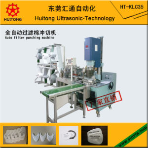 Ultrasonic Filter Mask Punching Machine pictures & photos