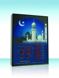 Mosque/Muslim Talking Azan Digital Clock for Muslim/Mosque Prayer pictures & photos