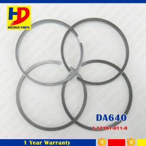 Da640 4 Rings Diesel Engine Piston Ring for Isuzu Engine Set (1-12181-011-0) pictures & photos