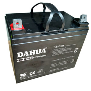 Dahua 12V 33ah Deep Cycle Solar Battery for Solar Systems pictures & photos