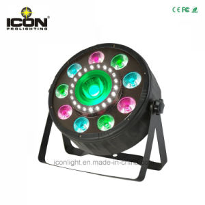 LED Light Flat PAR Lighting for Stage with Ce RoHS pictures & photos