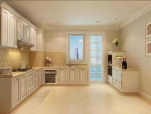 China Factory Luxury Wood Kitchen Cabinet for Villa Project (FOH-MKC1338) pictures & photos
