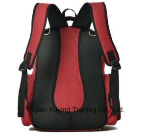 Red Multifunction Double Shoulder Mom Bag pictures & photos