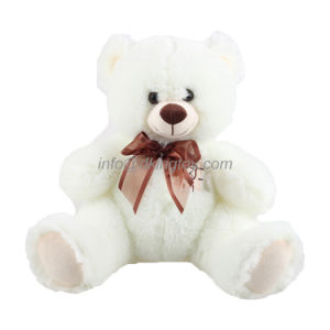 Customized Cuddly White Soft Stuffed Plush Toy Teddy Bear pictures & photos