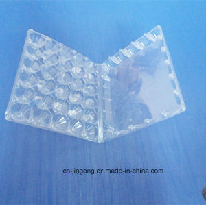 30 Cells PVC Blister Packing Box for Eggs Clear Blister Tray for Eggs pictures & photos