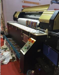 Dual 5113 Printhead Flag Printing Machine, Fabric Printer pictures & photos