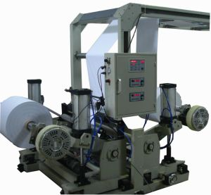 Jumbo Roll Paper Sheet Cutting Machine with Receiver Table pictures & photos