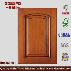High Glossy Wooden Kitchen Cabinet Door Design (GSP5-032) pictures & photos