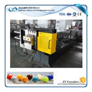 Recycled Plastic Pet Granules Making Machine of Twin Screw Extruder Machine pictures & photos