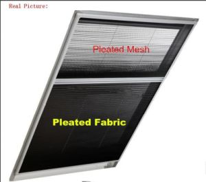 Insect and Sun Screen Retractable Screen /2in1 Fly Screen pictures & photos