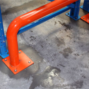 Safety Barrier for Pallet Racking in Warehouses pictures & photos