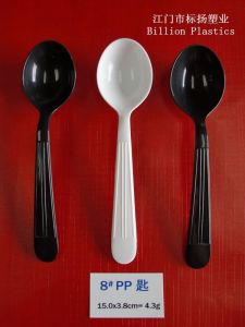 Food Grade PP Plastic Spoon Disposable Plastic Spoon pictures & photos